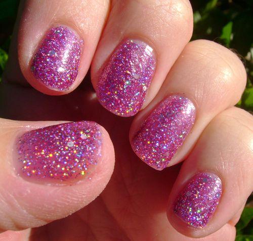 Debby violet paillette 4
