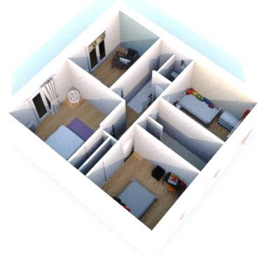 coupe transversale etage solution 2 - Copie