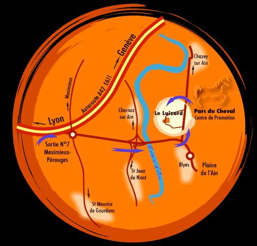 plan-accès-Parc-Chevalw