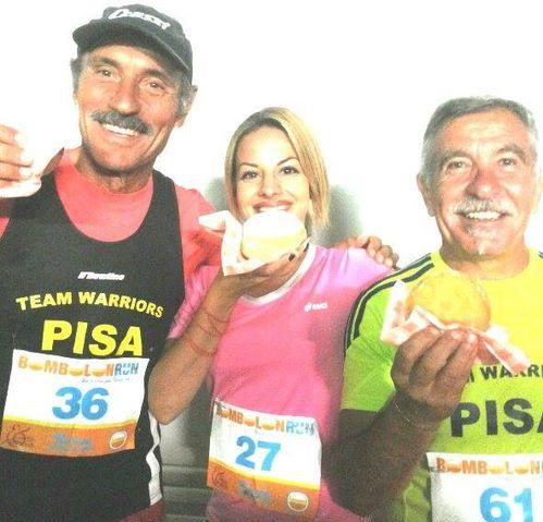 Bombolon Run (1^ ed.). Sport, ironia e tanto divertimento per tutti con bombolone finale. Il racconto di Luisa LadyRun Betty (FB)