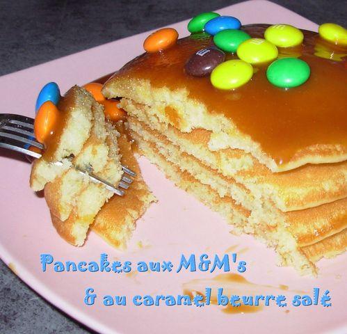 Pancakes aux M&M's3