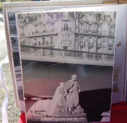 Mini-album Voile de lin n°29