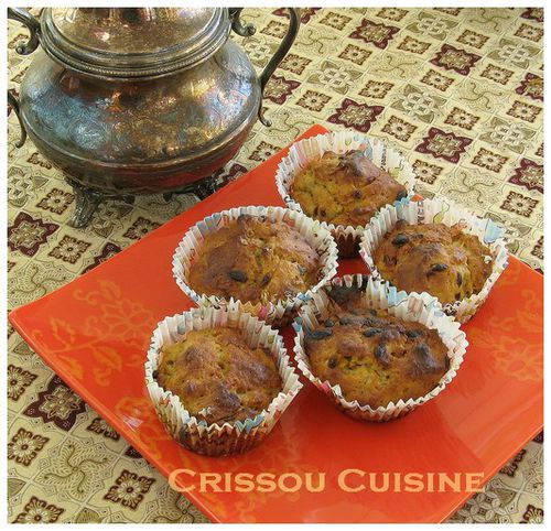 muffins noisettes et fruits de la passion