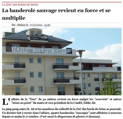 Article Journal des 2 Rives 20111017