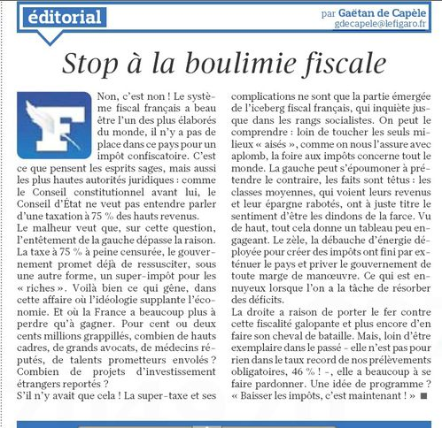 boulimie fiscale