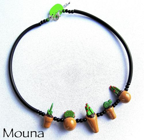 Collier Cactus 2 DISPONIBLE: 27 euros.