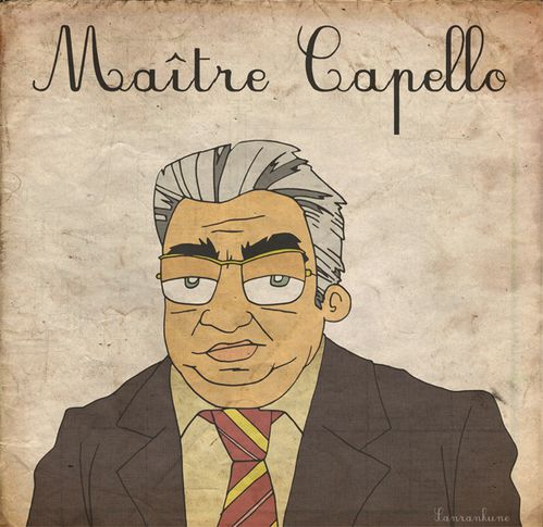 Maitre CApello caricature