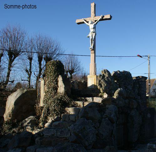 calvaire église Wailly Beaucamps (62)