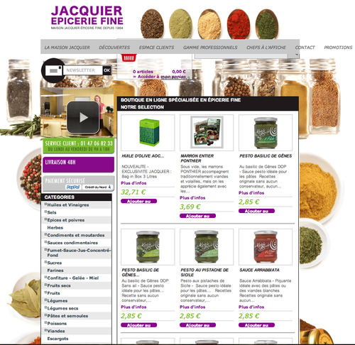 Jacquier Epicerie Fin Mini Chroniques Culinaires by Arno Ro