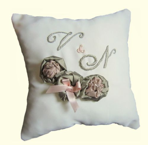 Cr ations de mariage by quenyn jolie - Coussin haute couture ...