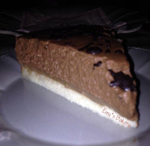 Entremet poire chocolat (3)