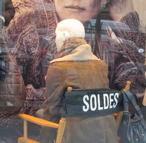 soldes vitrine fauteuil