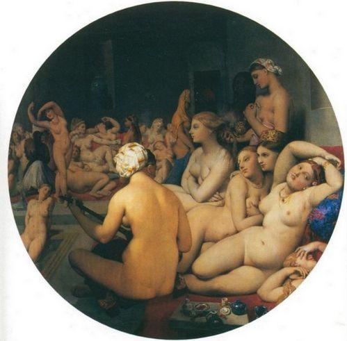 1859 1863 Ingres Le bain turc