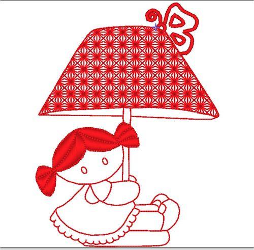 lampe redwork