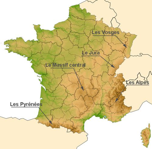 Carte massif