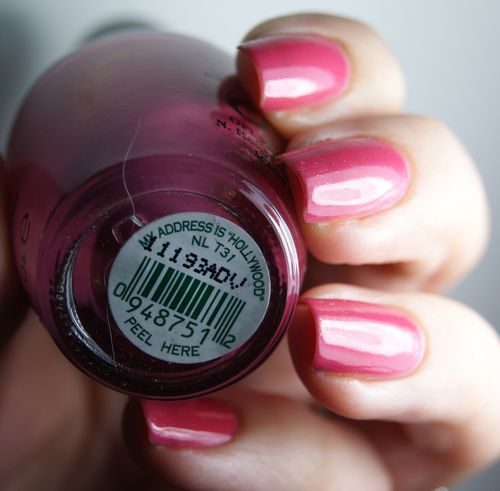 OPI My Adress is hollywood 4