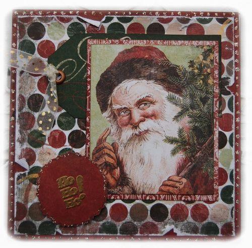 Carte Noël 2011 Estelle