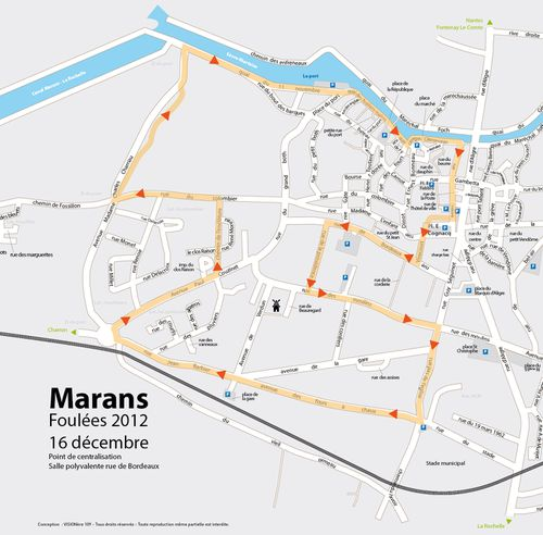 plan parcours foulees 2012