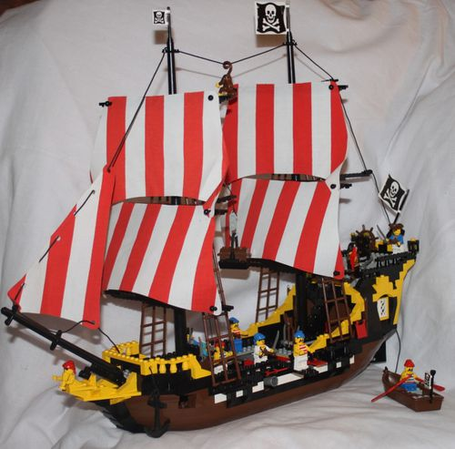 LEGO Pirate 6285 Black Seas Barracuda 17