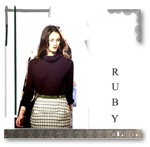Fashion ballyhoo- lookbook Ruby collection