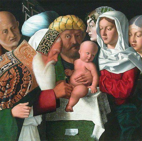 BARTOLOMEO VENETO La Circoncision. de Jesus
