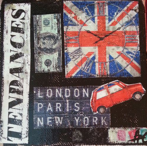 London, Paris, New-York