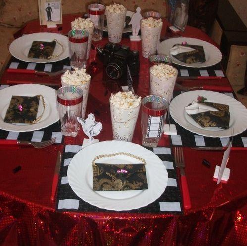Table Cin Ma Hollywood Cuisinestyle