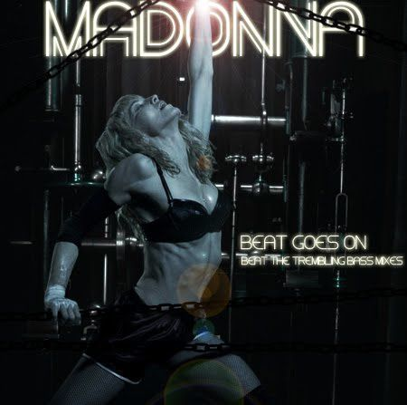 Madonna - Beat Goes On (CD Single Cover)