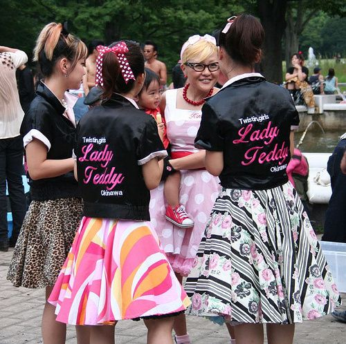 Hello Japan - Rockabilly Girls Lady Teddy