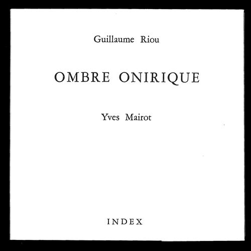 Ombre onirique - G.Riou