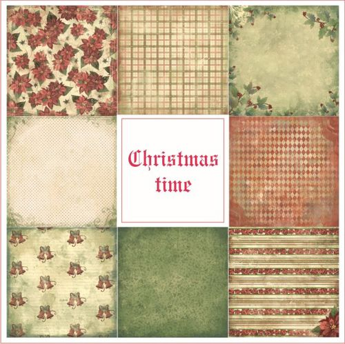 Christmas Time collection papiers