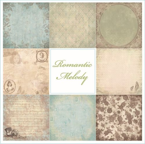Romantic Melody collection papiers