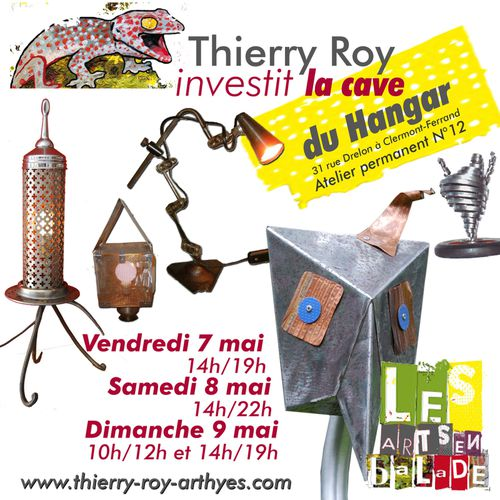 thierry roy arts en balade