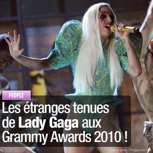 lady gaga grammy 2010