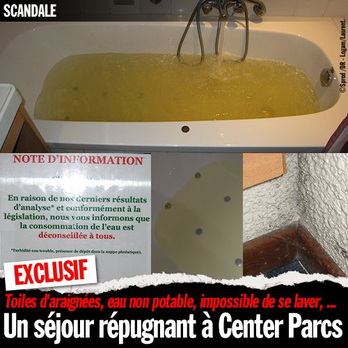 Exclusif un s jour r pugnant center parcs sansure fr for Piscine center parc normandie