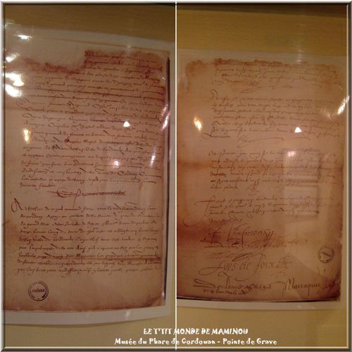 Musee phare cordouan documents 1