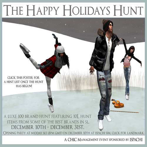 The Happy Holidays Hunt (Poster)
