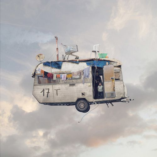 Laurent-Chehere-Flying-Houses-Caravane-Galerie-Paris-Beijin