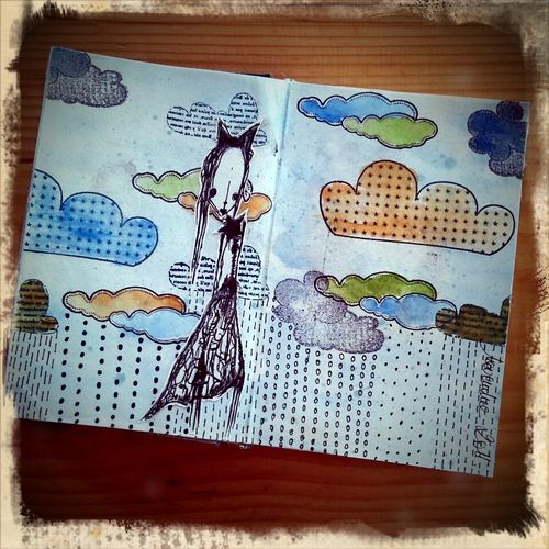 Dans mon sketchbook semaine 44