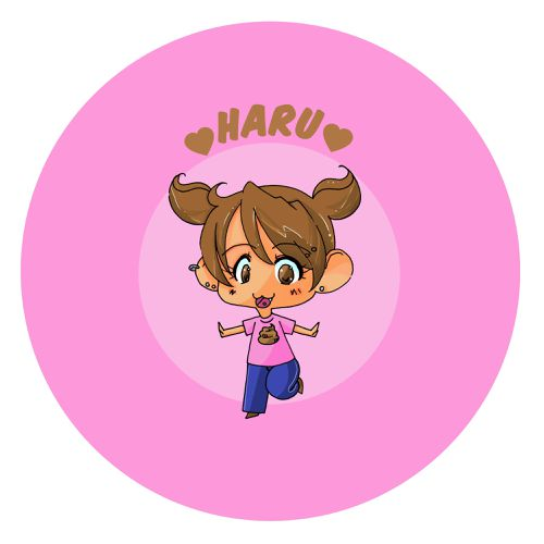 Badge Haru