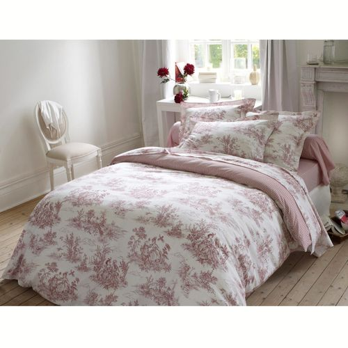 housse de couette toile de jouy la redoute fashion maman. Black Bedroom Furniture Sets. Home Design Ideas