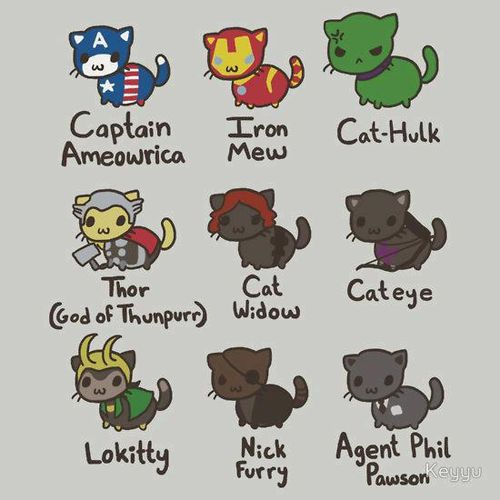 OMG!!!! The Avengpurrs!
