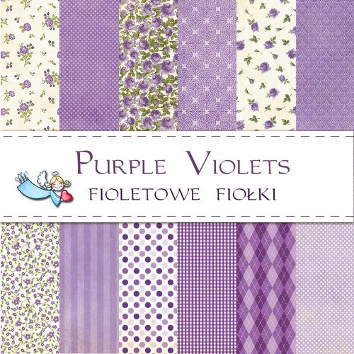 Liberty violet vue d'ensemble