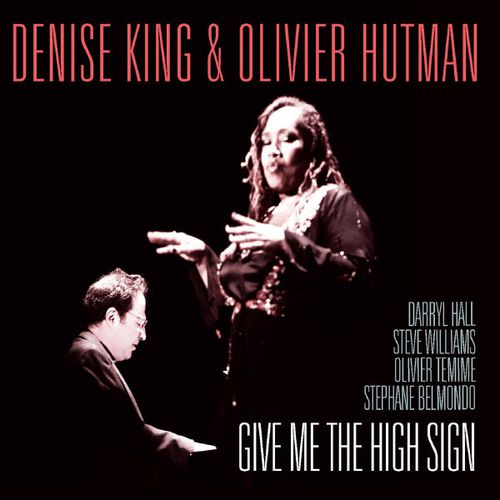 Denise King & Olivier Hutman, CD cover
