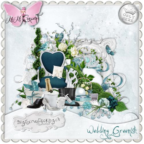 MiMiConcept-Wedding Greenish-pv