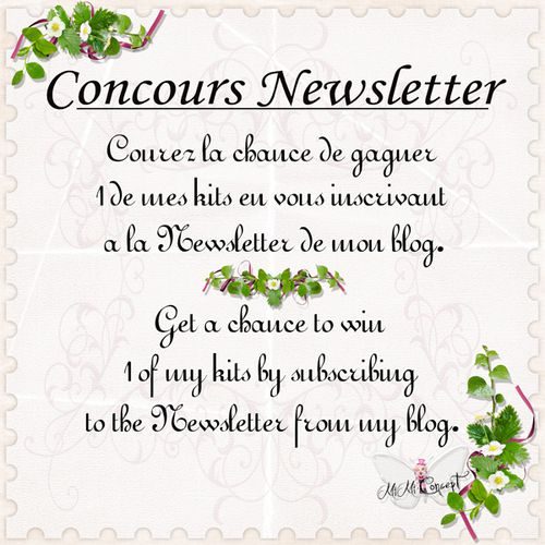 concours newsletter