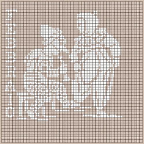 FEBBRAIO - Monocromo solid blocks