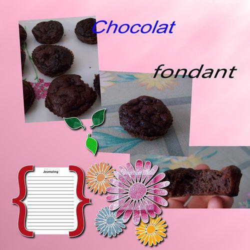 petits fondants au chocolat le blog de diabline78. Black Bedroom Furniture Sets. Home Design Ideas