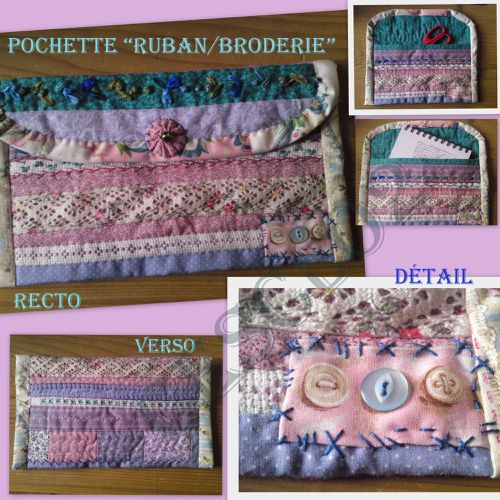 pochette ruban