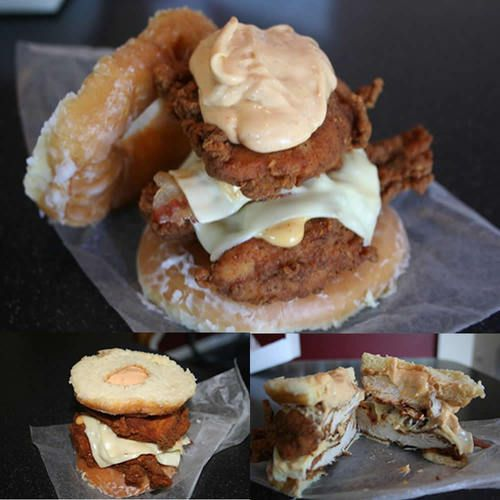 KFC Double Down Luther Sandwich